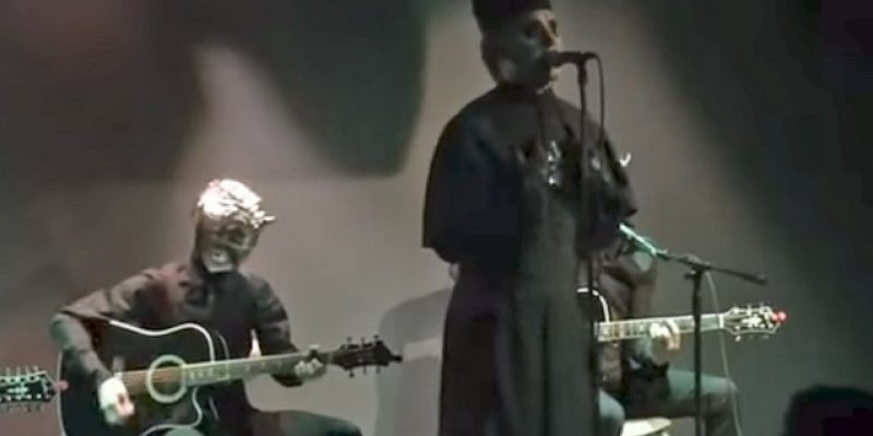 GHOST Performs Acoustic Set With 'New' Frontman CARDINAL COPIA (Video)!