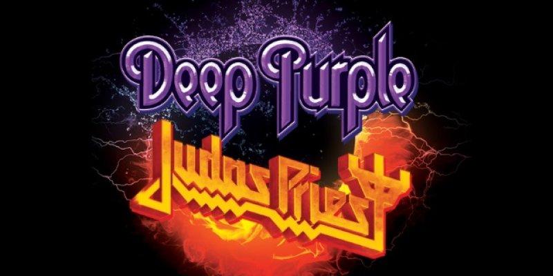 DEEP PURPLE And JUDAS PRIEST Announce North American Co-Headline Tour!