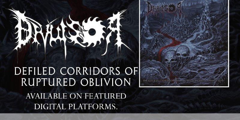 """Divulsor: """"Defiled Corridors of Ruptired Oblivion"""" is now available on major streaming platforms, listen now!"""