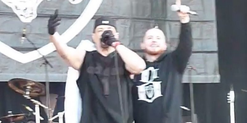 """Watch: HATEBREED's Jamey Jasta Joins ICE-T's BODY COUNT To Perform """"Cop Killer"""" at Download Fest!"""