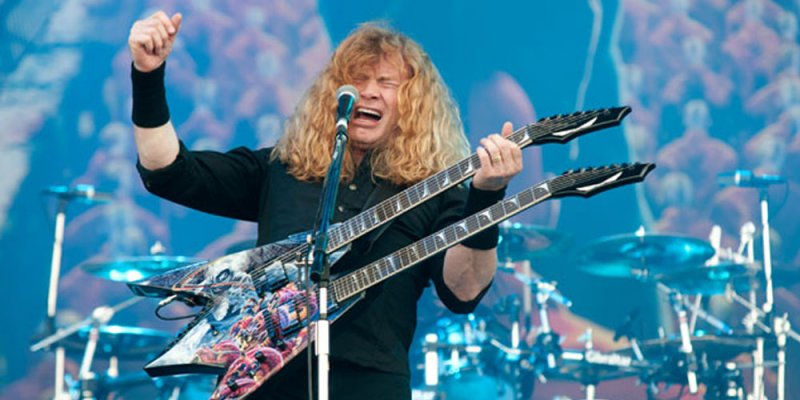 DAVE MUSTAINE On Possibility Of More 'Big Four' Shows: 'There's One Person That's Holding It Up For Everybody'