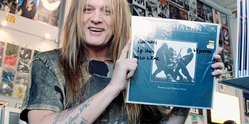 Sebastian Bach Takes Us Record Shopping, Watch Here!