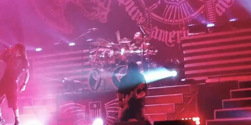 Watch LAMB OF GOD Perform With Drummer ART CRUZ For The First Time