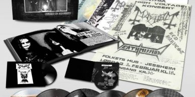 MAYHEM: 'Cursed In Eternity' DEAD-Era Box Set Due In November