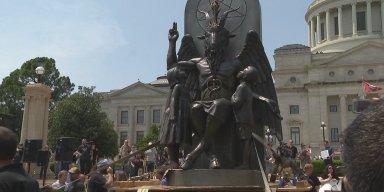 Satanic Temple's Baphomet Raises Hell Over Religious Freedom In Arkansas!