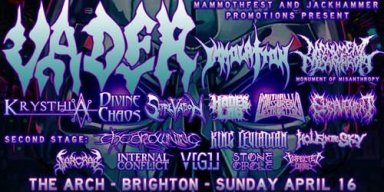 The Drowning to tour with Vader and Immolation!