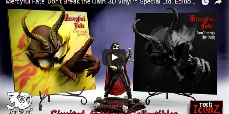 KING DIAMOND And MERCYFUL FATE 'Rock Iconz' Statues: Video Trailer!
