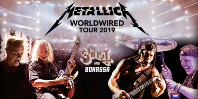 METALLICA Announces Summer 2019 European Tour With GHOST!