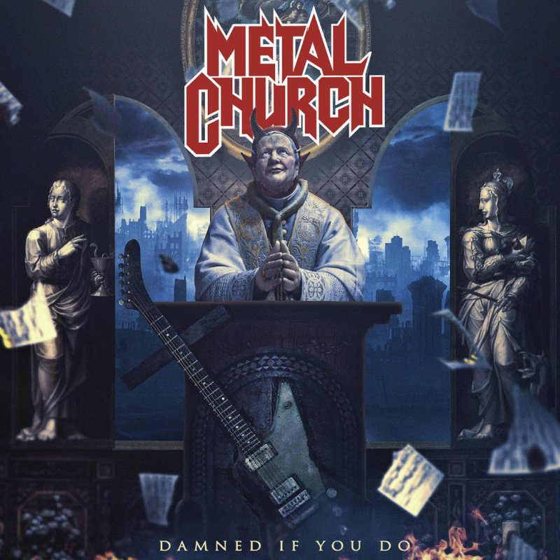 METAL CHURCH | New Single 'Damned If You Do' Available