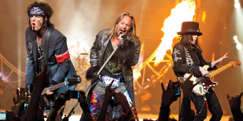 Is Motley Crue Getting Ready To Perform Live Again?