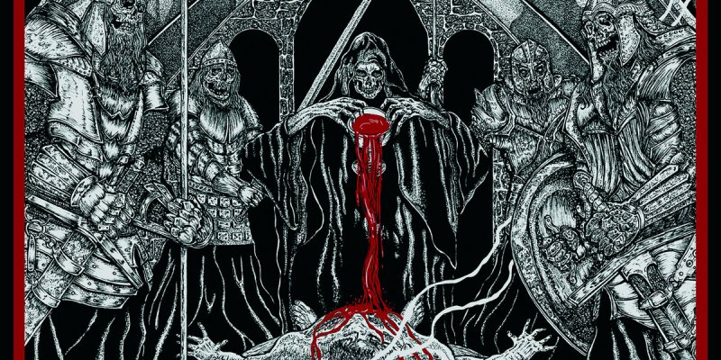 """Blood Chalices From the Impure (Split) 7""""EP by AIMA // SUPREMATIVE"""