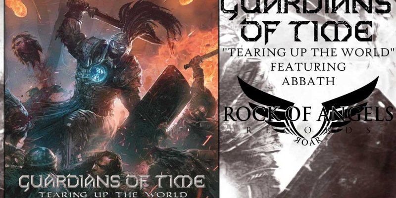 "GUARDIANS OF TIME Release ""Tearing Up The World"" Lyric Video Feat. ABBATH As Guest On Vocals"