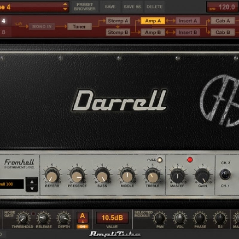 How To Sound Just Like Dime Using Models Of Gear Used On PANTERA's 'Cowboys From Hell' Album Released By IK MULTIMEDIA
