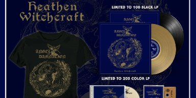 SHADOW KINGDOM RECORDS is proud to present ANGEL OF DAMNATION's highly anticipated second album, Heathen Witchcraft, on CD, vinyl LP, and cassette tape formats.