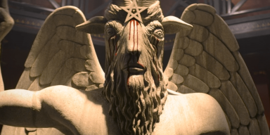 """Satanic Temple Taking Legal Action Against Netflix Over This """"Chilling Adventures of Sabrina"""" Statue"""