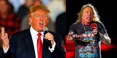 Axl Rose Furious About Donald Trump Using Guns N' Roses Music at Campaign Rallies