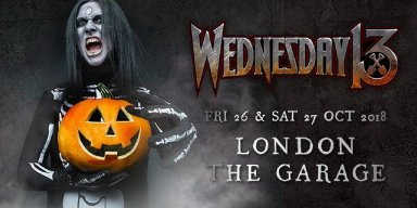 Five Queens Invade London: Two nights of Wednesday 13 at The Garage, Concert Review!