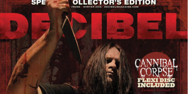 CANNIBAL CORPSE: Decibel Magazine Announces Special Limited-Edition Issue With Included Flexi - On Sale NOW + Tour Underway