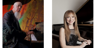 Jordan Rudess of Dream Theater and Judith Lynn Stillman, RIC Artist-in-Residence, perform An Evening of Music for Two Pianos