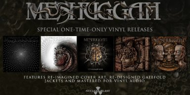 MESHUGGAH Release Reissues Of Their First Five Albums On Vinyl