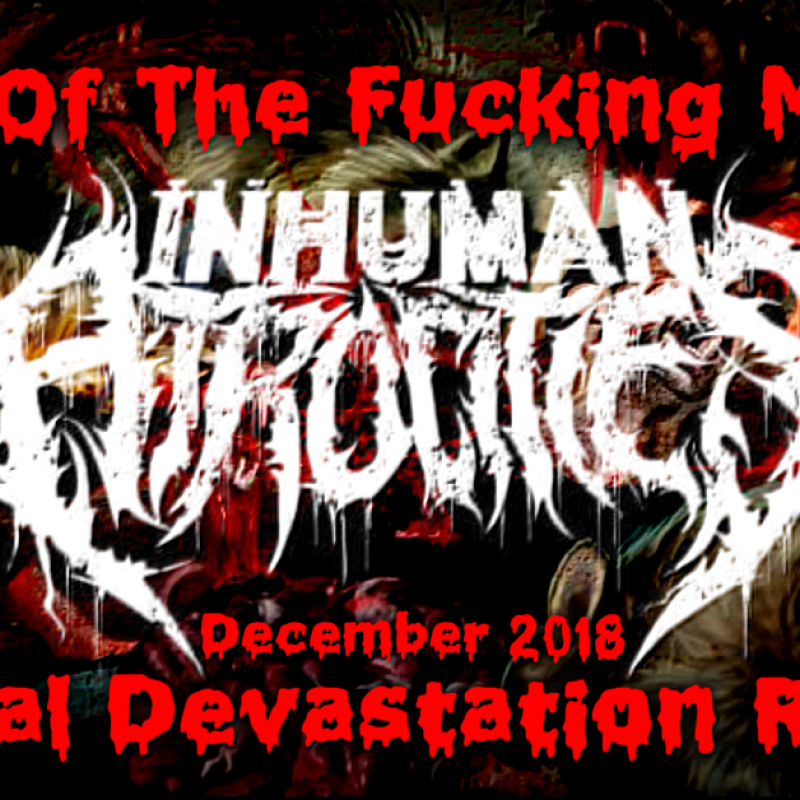 Inhuman Atrocities Is Band Of The Month On MDR December 2018!