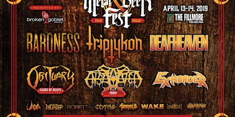 Final Acts for Decibel Metal & Beer Fest: Philly Revealed, All Tickets on Sale NOW!