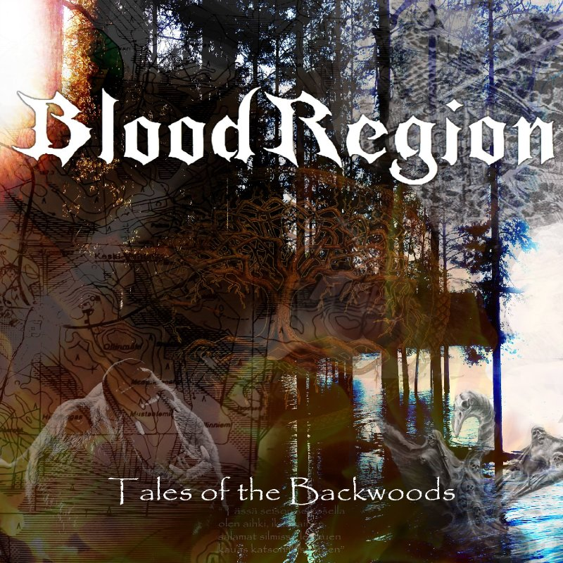 Finnish metal act Blood Region is releasing their debut full length album Tales of the Backwoods on December 18th 2018.