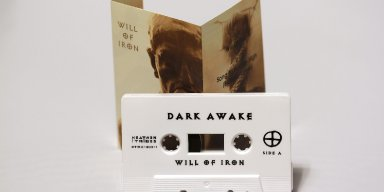 """DARK AWAKE - """" Will Of Iron"""" Pro TAPE EP released by Heathen Tribes Records !!!"""