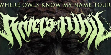 RIVERS OF NIHIL Announces North American Headlining Tour With Entheos, Conjurer, And Wolf King