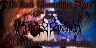 Enfold Darkness Featured Interview And Zach Moonshine Begins The Year Of Devastation!
