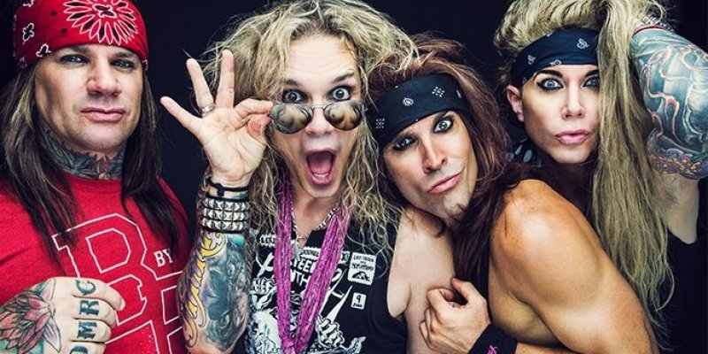 "STEEL PANTHER Slams SPOTIFY: ""You Have Destroyed All Future Earnings of All Musicians"""