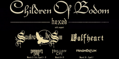 Summoners Circle Opening For CHILDREN OF BODOM On Their Hexed 2019 North American Tour!