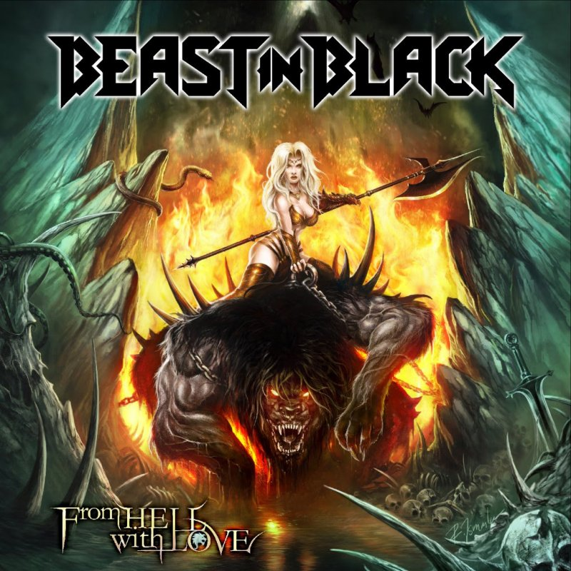 """BEAST IN BLACK - talk about """"From Hell With Love"""" album title and artwork in third album trailer!"""