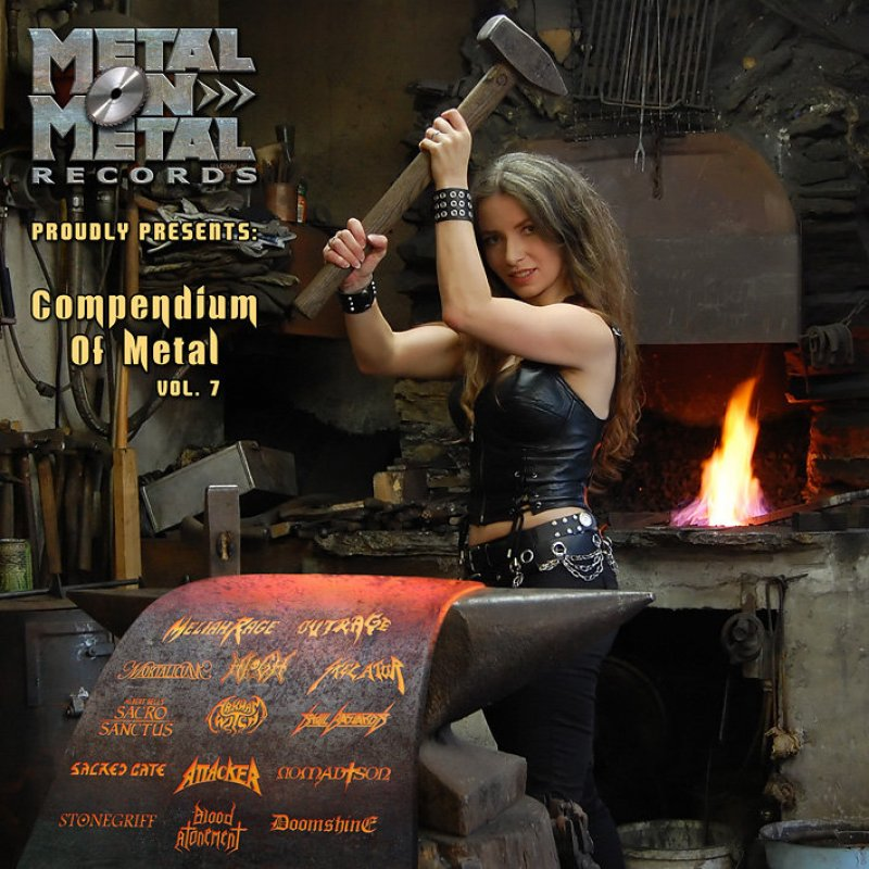 """Free Download - VV.AA. """"Compendium of Metal Vol. 7"""" by Metal On Metal Records"""