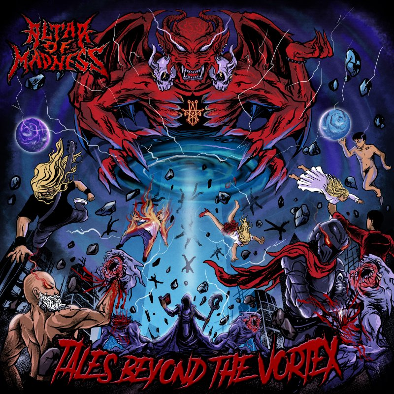 Altar of Madnessreleased their debut album«Tales Beyond the Vortex»