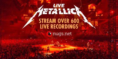 Big News! Listen Free to 600 Metallica Concerts!