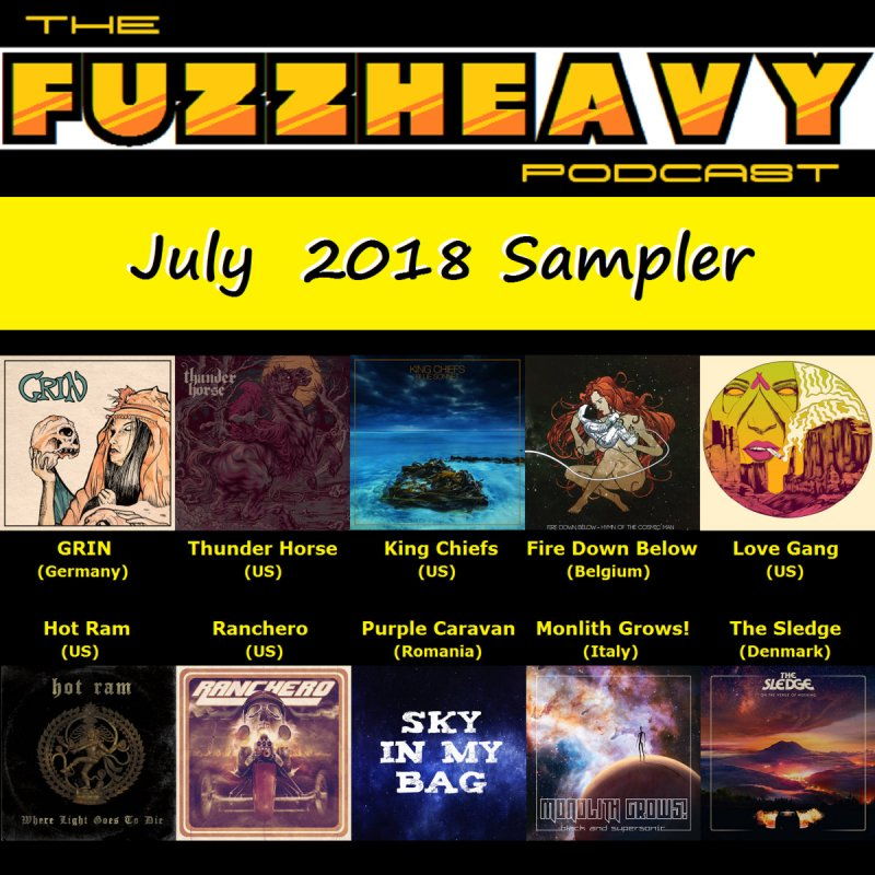 Free Download - FuzzHeavy Sampler - July 2018 by FuzzHeavy (FSL)