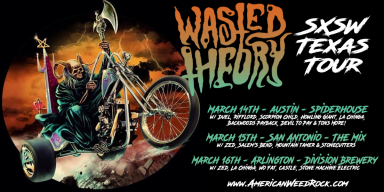 Wasted Theory 2019 Texas Tour Dates!
