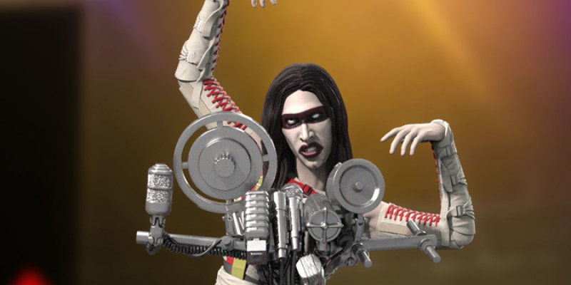 Official Marilyn Manson Statue Coming This Spring!