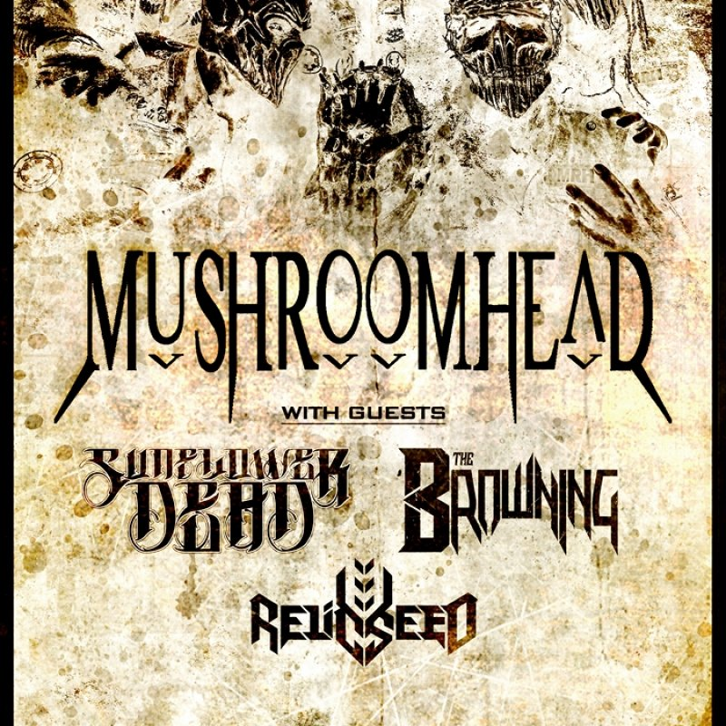 RELICSEED to tour across USA in the support of their latest album, along with Mushroomhead, Sunflower Dead, The Browning!