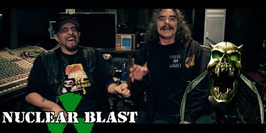 "OVERKILL Release ""Welcome To The Garden State"" Part 5: ""Hello From The Gutter"" Music Video & The Origin Of Their Bat Skull Symbol"