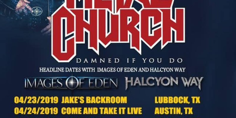 HALCYON WAY to tour North America with METAL CHURCH