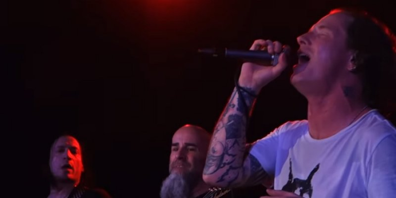 """Watch Corey Taylor Cover Faith No More's """"From Out Of Nowhere"""" With Members Of Anthrax & More"""