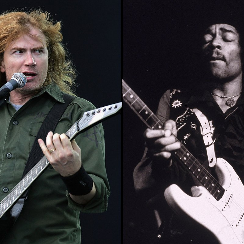 DAVE MUSTAINE Plays JIMI HENDRIX Classics On 'Experience Hendrix' Tour