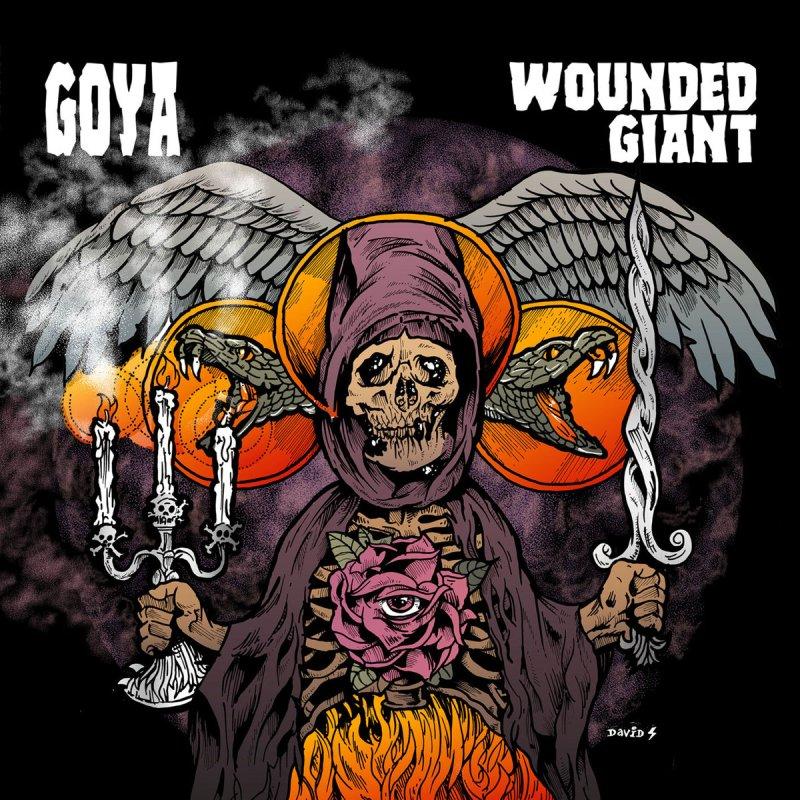 Wounded Giant / Goya Split LP!