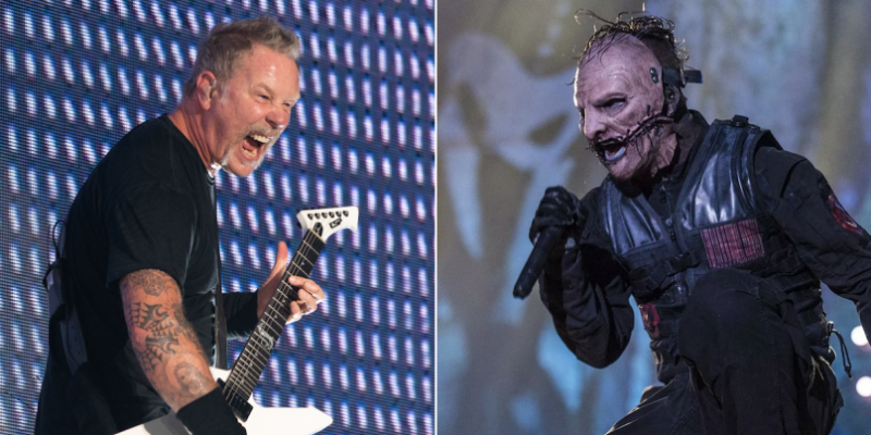 METALLICA And SLIPKNOT To Join Forces For Tour Of Australia And New Zealand