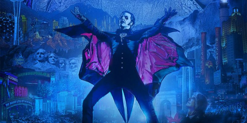 Ghost announce The Ultimate Tour Named Death