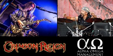 CRIMSON REIGN Sign With ALPHA OMEGA Management, Announce New Bass Player!