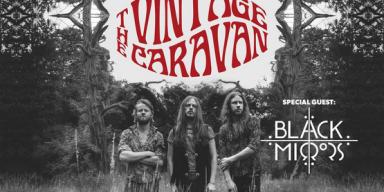 "THE VINTAGE CARAVAN - Unveil ""On The Run"" Music Video Ahead Of European Headline Tour w/ BLACK MIRRORS!"