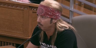 BRET MICHAELS Speaks At California State Capitol In Support Of Diabetes Education Bill